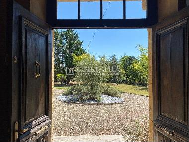 Gascon Manor House with stunning views in Gers, South West France